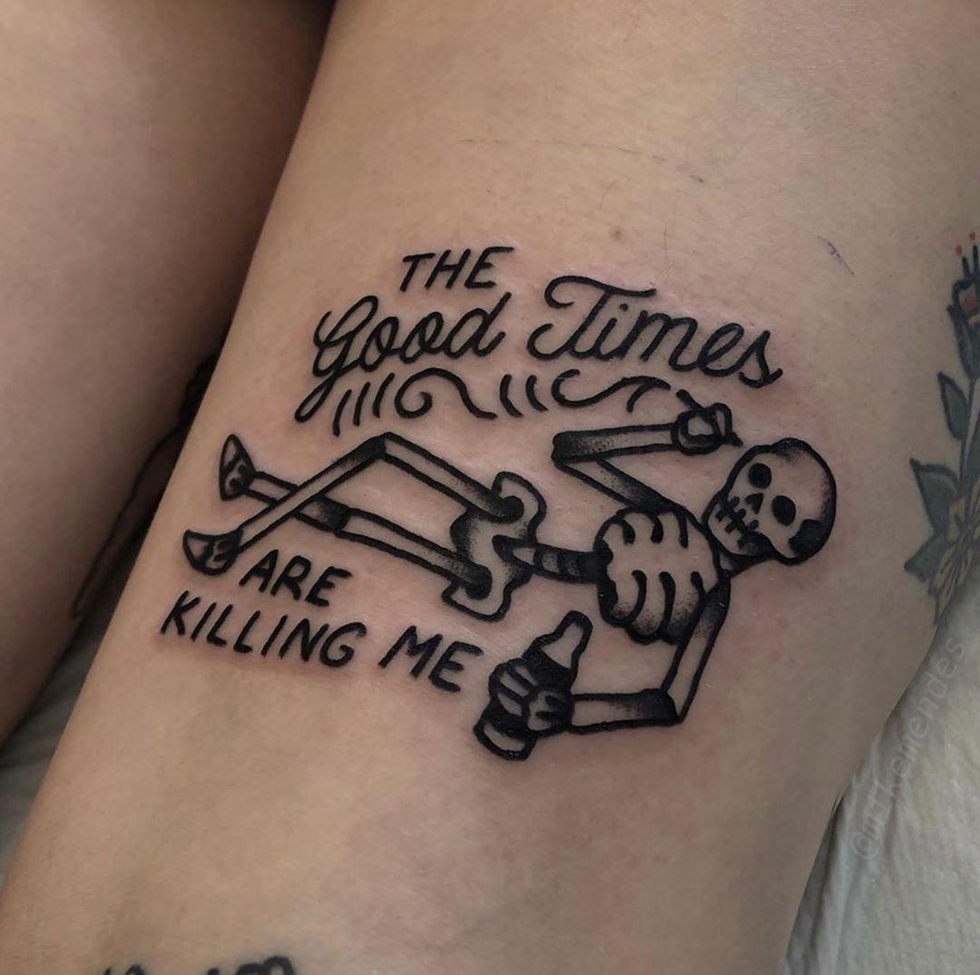 Photo of Tatouage traditionnel sur Instagram: «#tattoo by @mikemendes … … … … #traditional #traditionaltattoo #traditionalartist #oldtattoo #oldschooltattoo # tattooartist…»
