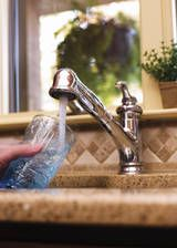 Cleaning faucets