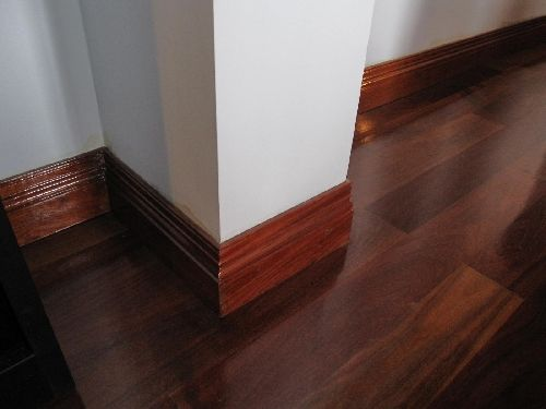 Like the floor and the finish