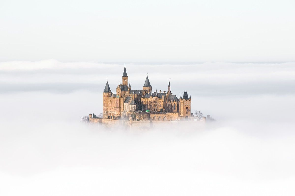 Burg Hohenzollern Im Nebel Wonders Of The World Cologne Cathedral Castle