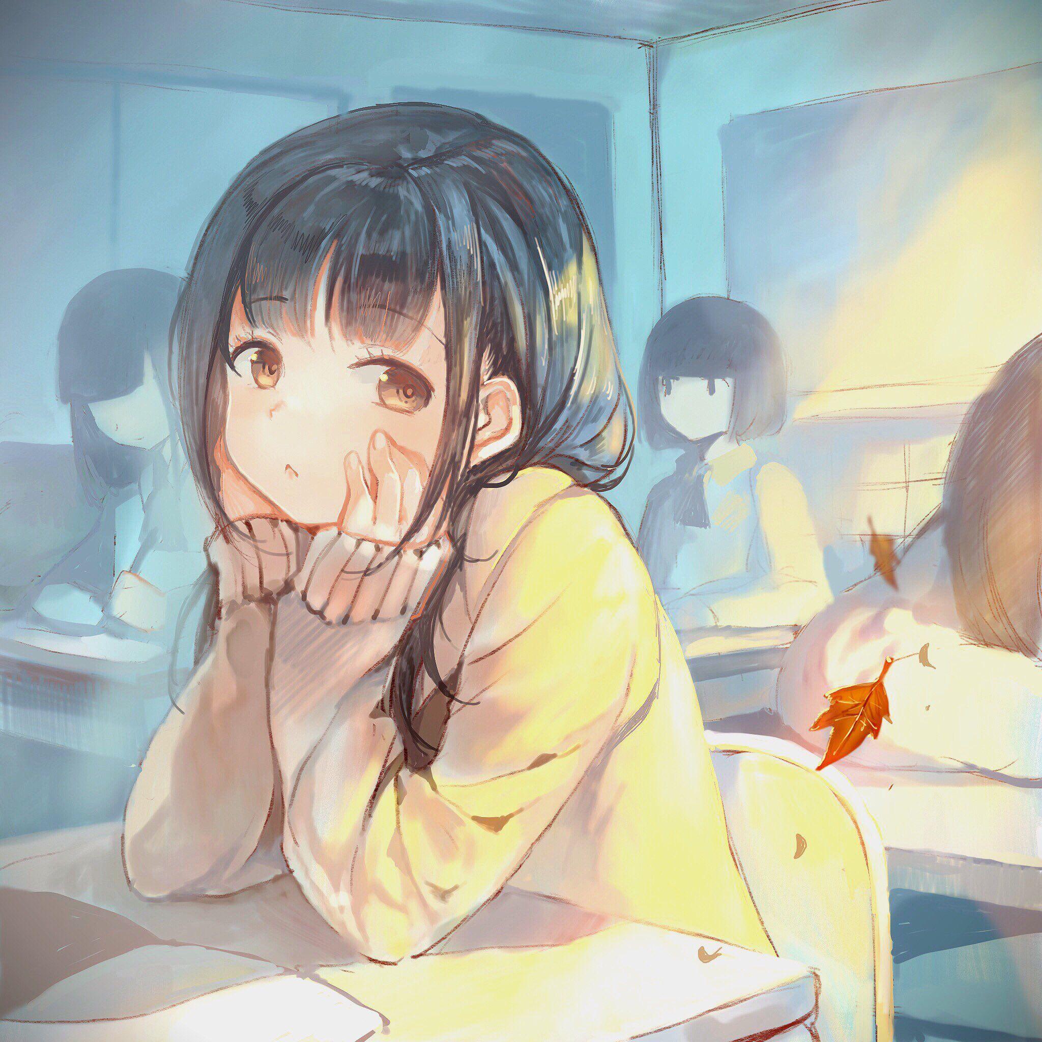 Original Drawn By Sibyl Menina Anime Raparigas Anime