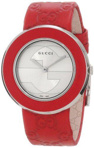 42605c47256 Gucci Womens YA129421 U-Play Medium Watch with Interchangeable Bracelet and  Bezel