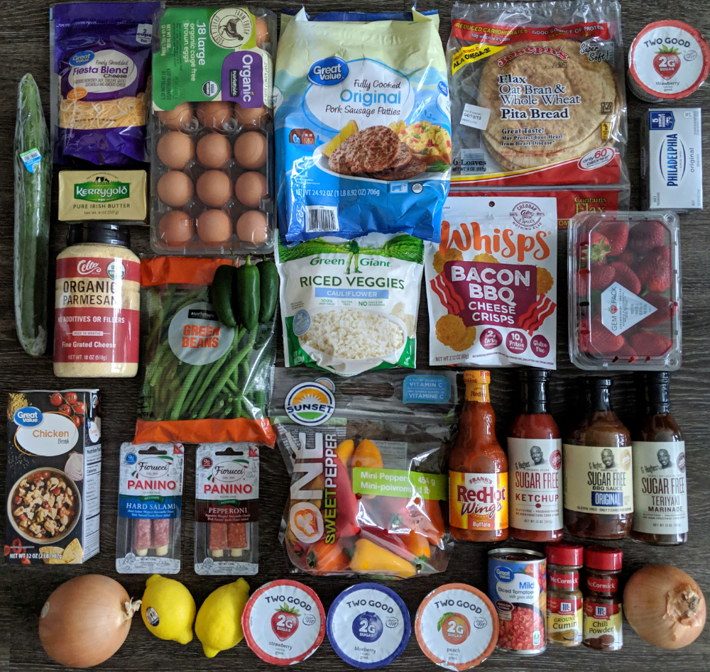 Low Carb Walmart Grocery Haul getfitlaura in 2020