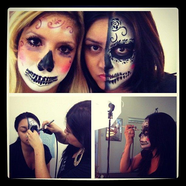 Do it yourself glamour or fantasy makeup halloween do it yourself glamour or fantasy makeup halloween airbrushmakeup dinair solutioingenieria Choice Image