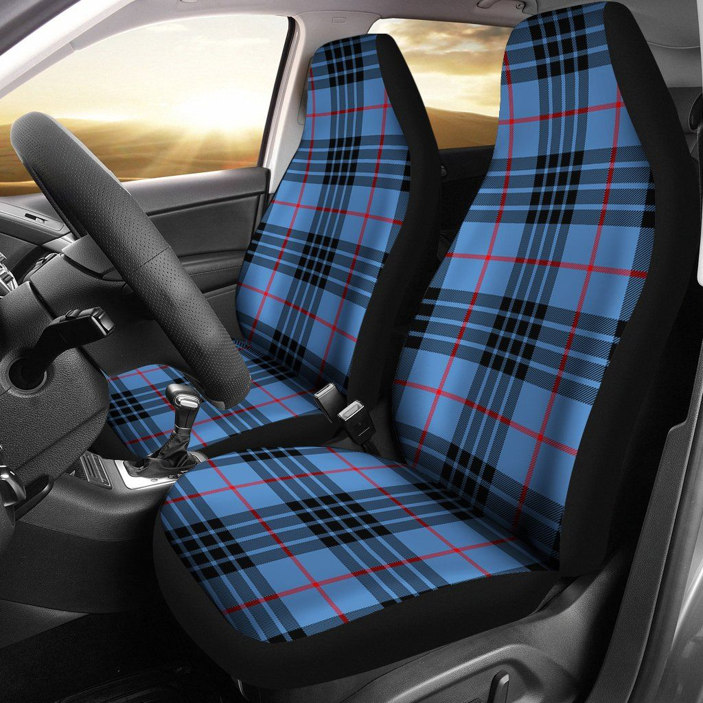 Mackay blue tartan car seat covers nl25 | Car seats, Seat covers and ...