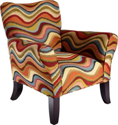 Retro Festival Orange Accent Chair 399 99 Find Affordable Accent