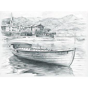 kitdessinaucrayonbateau.jpg (340×340) Sketches, Boat