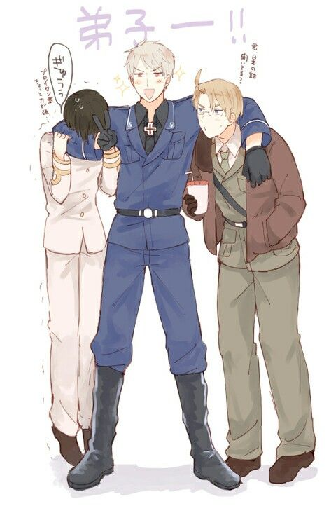 ...0_0 um...Prussia? You're kinda killing Japan-not only that, but his policy is 'please, stop touching me, I'm sorry' 0_o