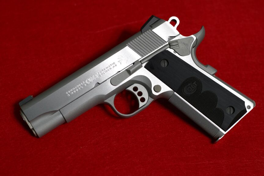Colt Stainless Combat Commander 100 Years Of Service Full