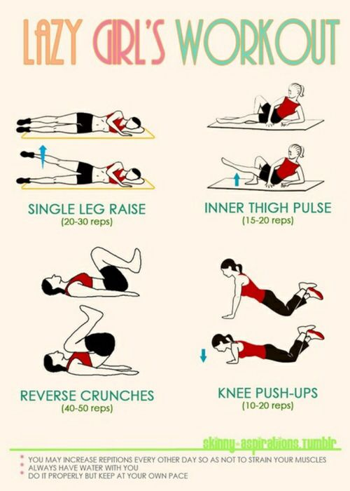 Lazy Girls Work Out