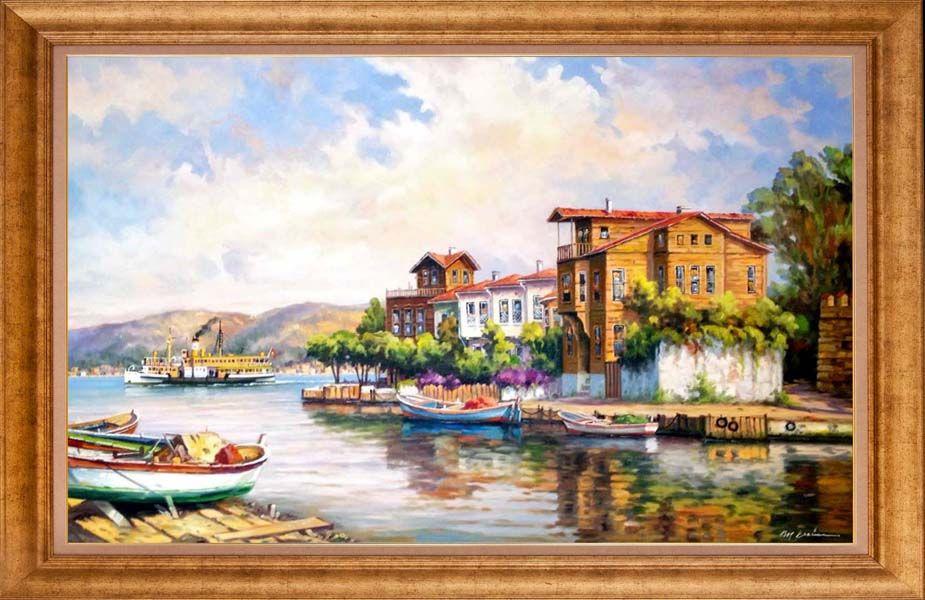 Murat Ersin Ressamlarimiz Murat Ersin Simurg Sanatevi Turkiye Nin Birinci Sinif El Yapimi Yagliboya Tablo Magazasi Tablolar Resim Sanati Resim