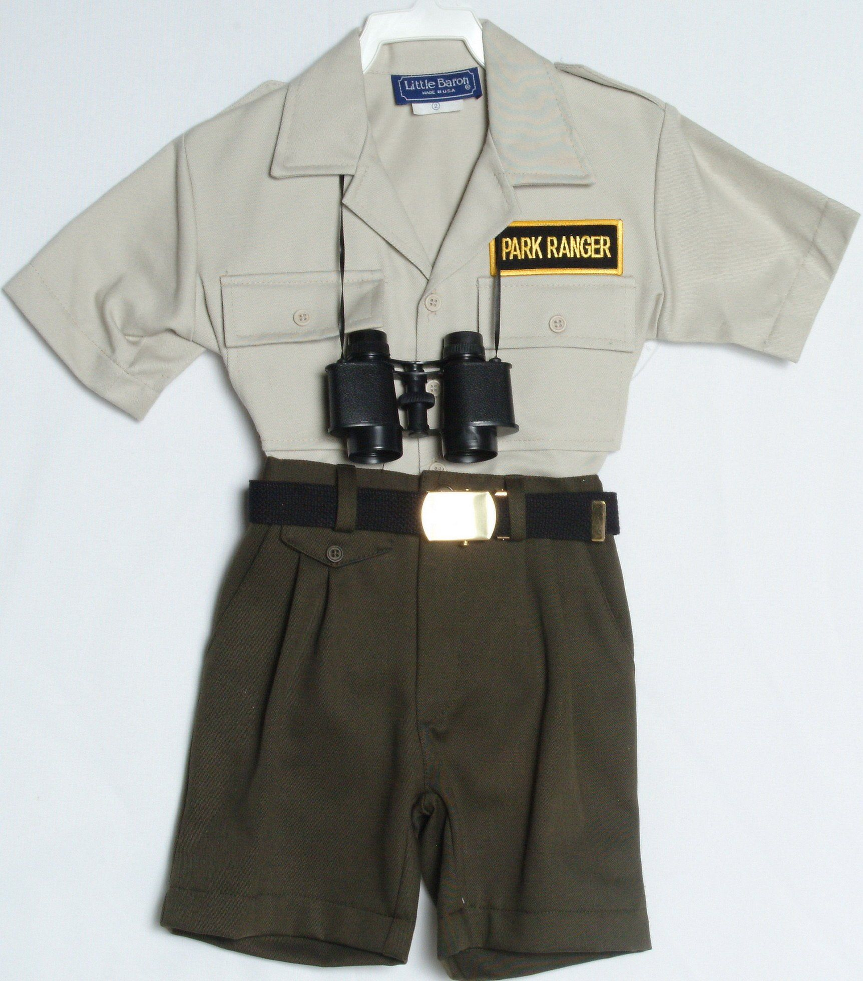 2cb4e8bdd8aed Amazon.com: Children's Park Ranger Outfit (6): Infant And Toddler ...