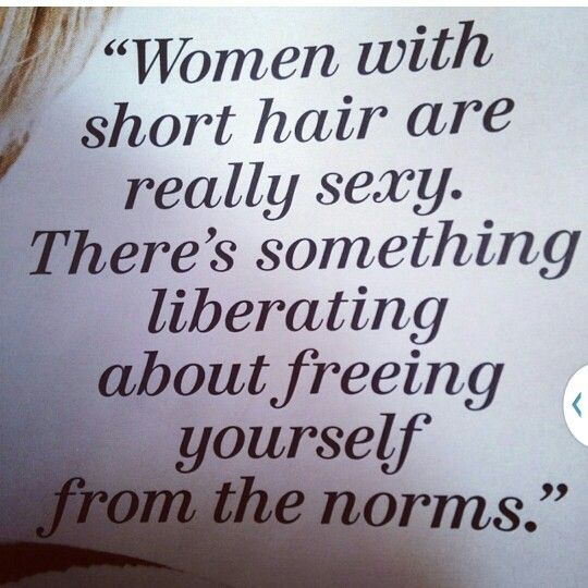 Short Hair Girls Rock Hair Quotes Short Hair Styles Short Hair Quotes