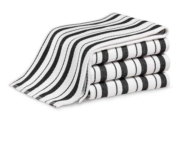 Clic Stripe Towels Set Of 4 With