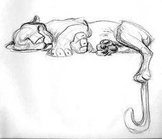 bocetos de animales - Buscar con Google