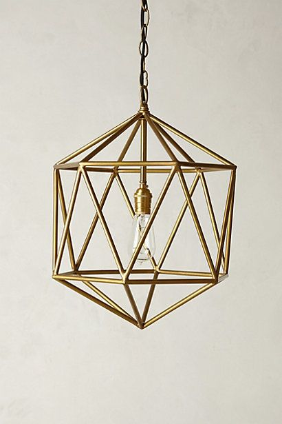 Euclidean Pendant Anthropologie Retails For 248 Learn To Make Your Own Lamp