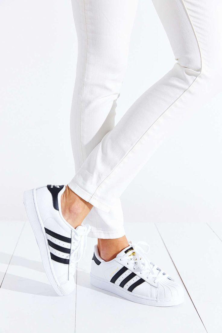 Adidas Superstar On Feet Women