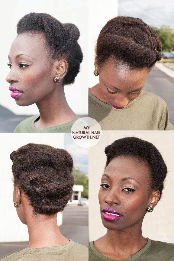 rolling hair style roll tuck and pin styles for black hair hair 9195