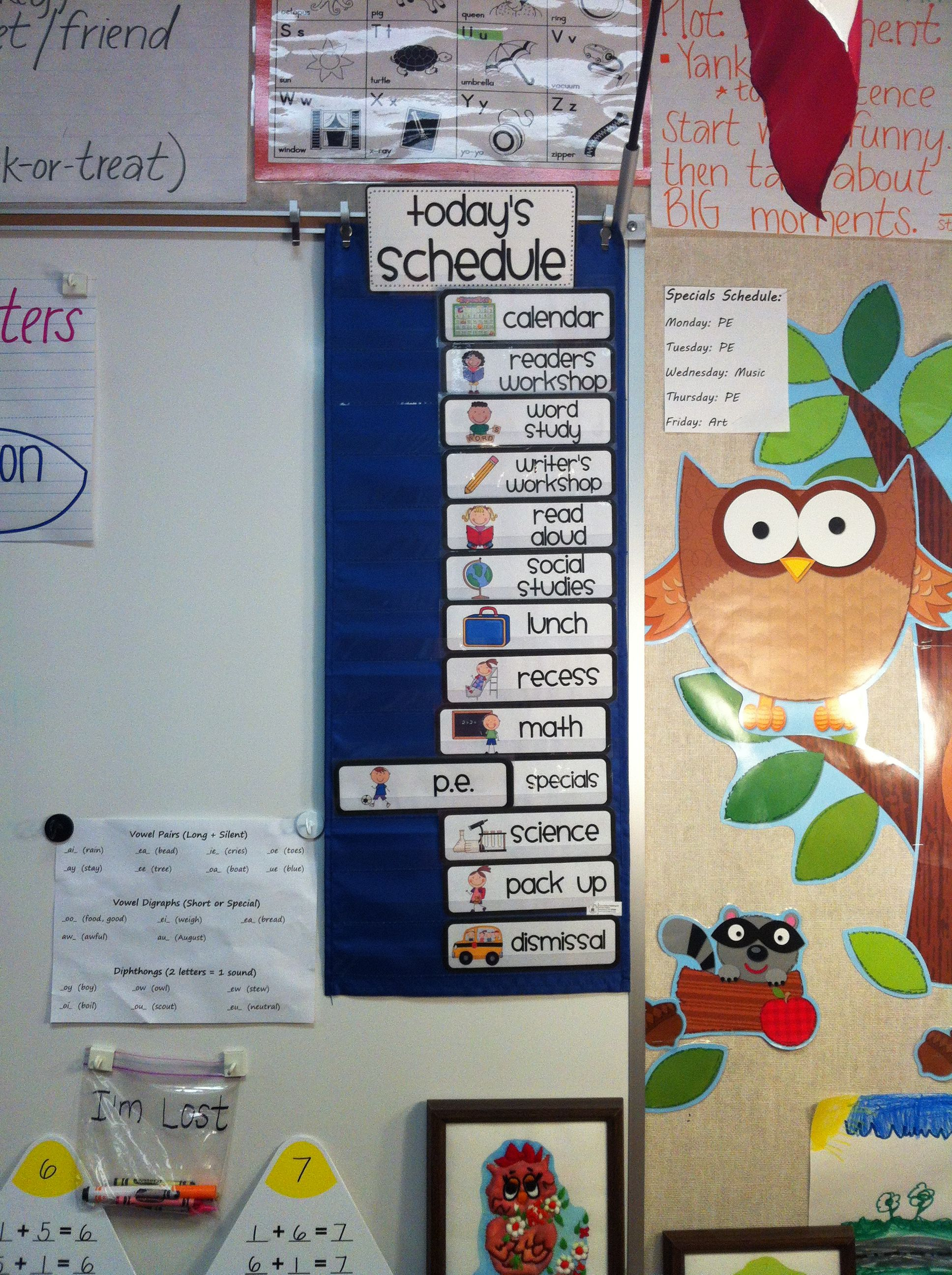 Classroom Transition Ideas : This gives students a visual and easy way to transition