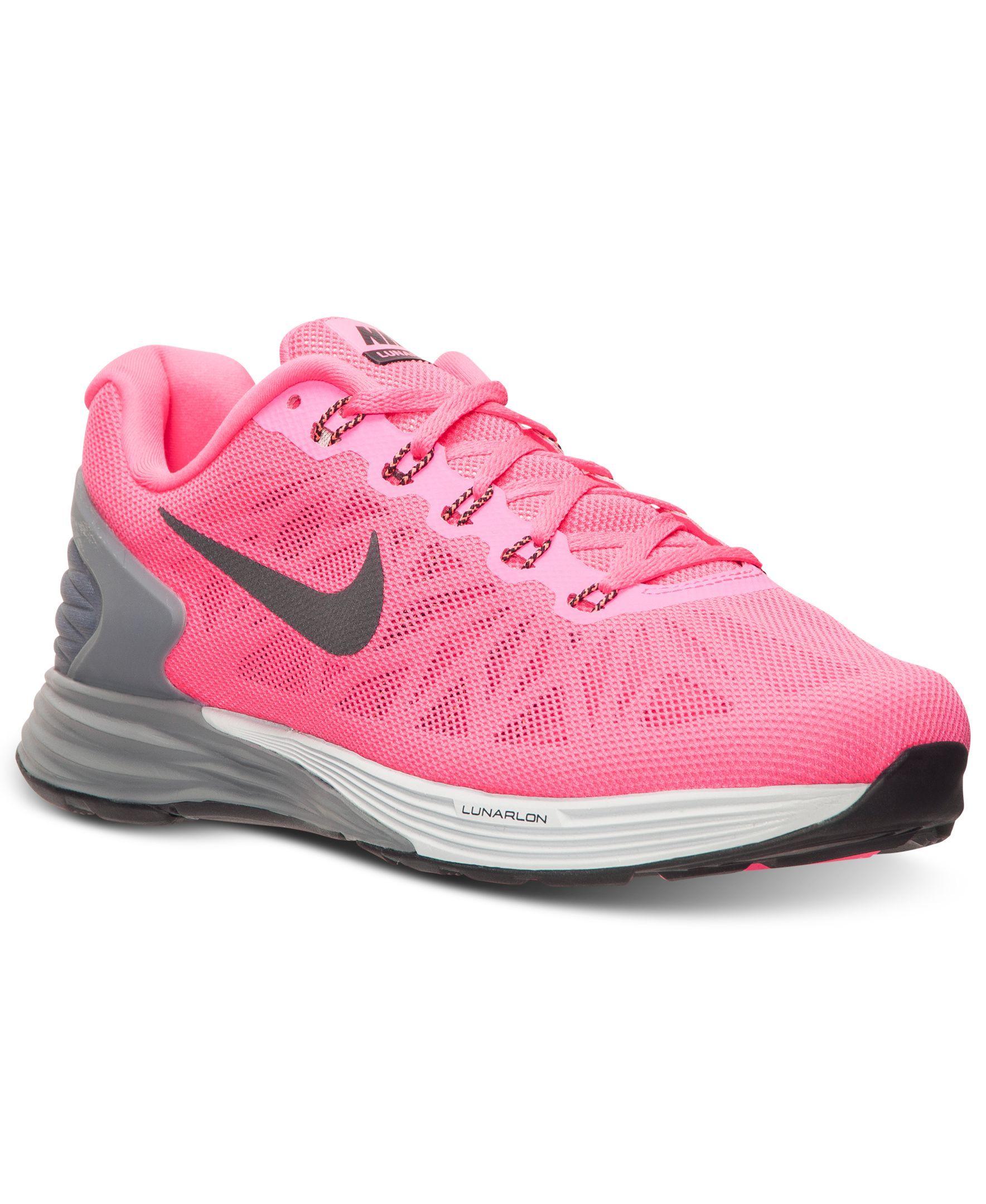 Nike Women's LunarGlide 6 Running Sneakers from Finish
