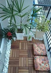 Photo of 45+ Awesome Small Balcony Garden Ideas  – Living in a group of rooms a few floor…