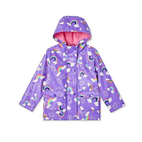 search for original offer discounts arriving George Toddler Girls' Rainbow Raincoat Purple 3T   Products ...