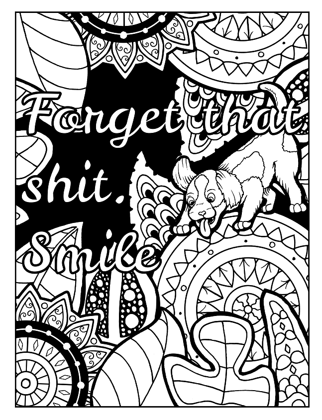 Pin By Highly Favored On Swear Word Coloring Book Swear Word