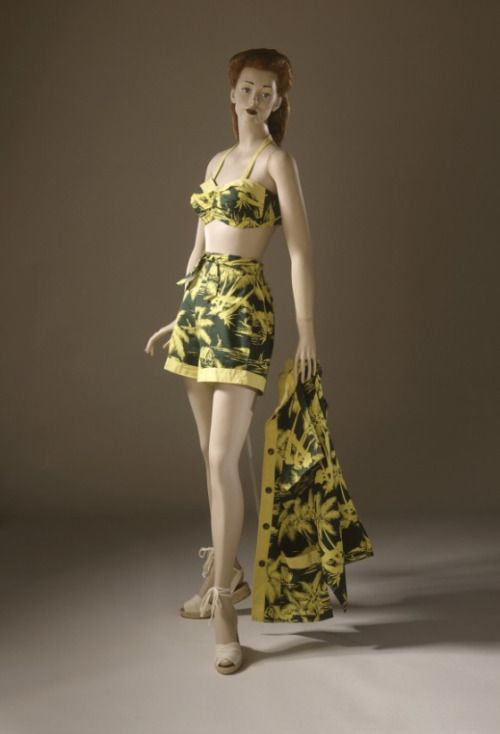 a012ae3b33 Bathing Suit EnsembleCatalina Sportswear, late 1940sThe Los Angeles County  Museum of Art