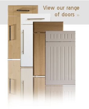 Different styles of kitchen doors with or without drawer ...