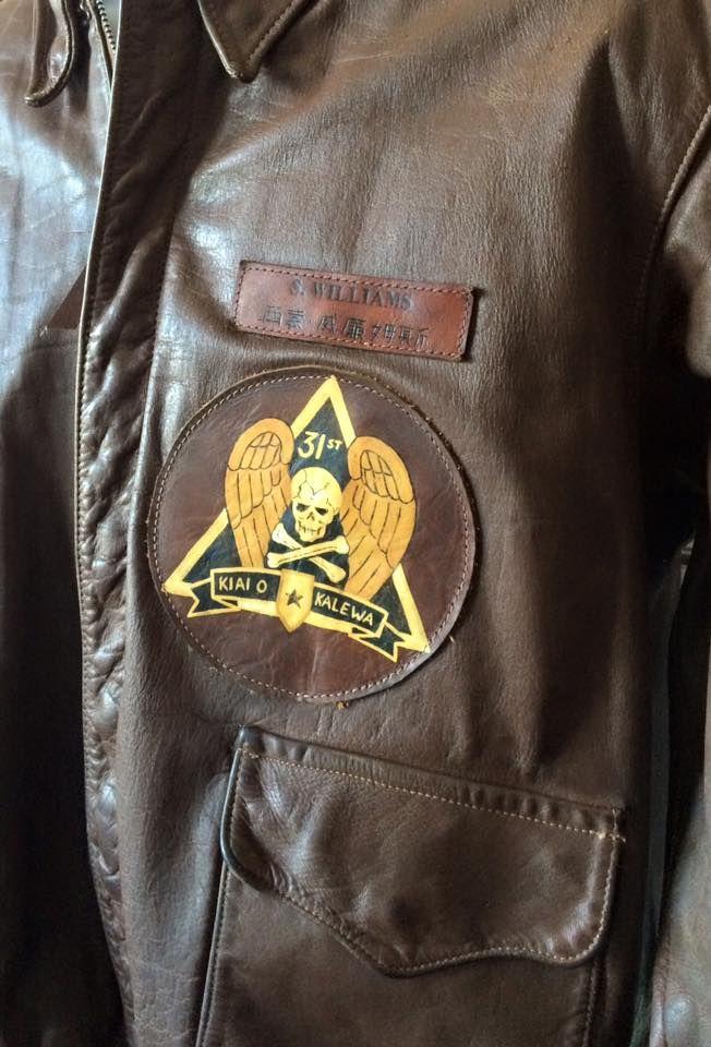 Biker Bomber Lederjacke patches Aufnäher
