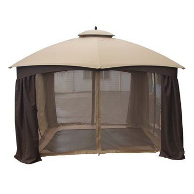 Shop Garden Treasures Replacement Insect Net For X Gazebos At Lowes Canada Find Our Selection Of The Lowest Price Guaranteed With Match