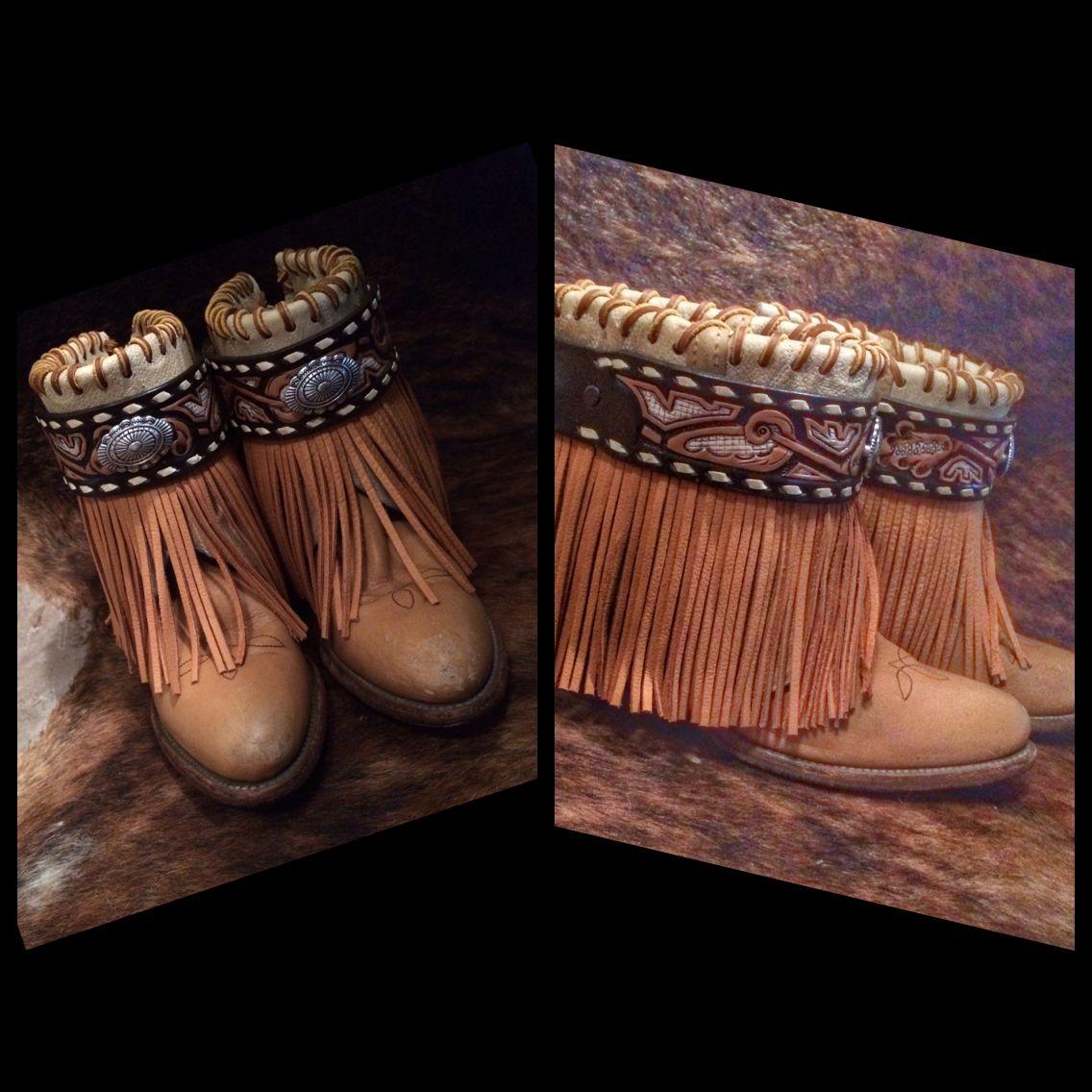 Gorgeous custom Ritzy Gypsy Boots