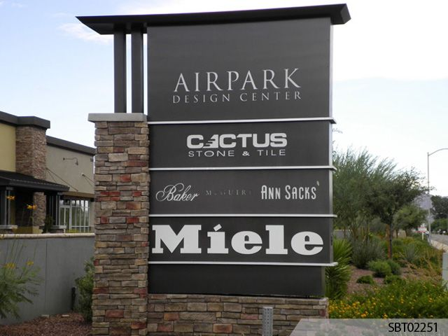 Custom Pylon Signs With Images Exterior Signage Monument