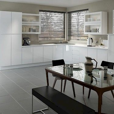 Handleless Kitchen Units Are Super Sleek And Help Keep Your Classy Kitchen Unit Designs Decorating Design