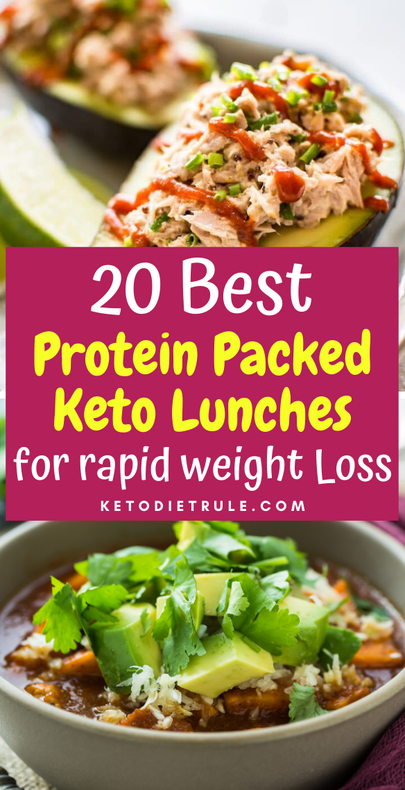 20 Satisfying Keto Lunch Ideas to lose Weight – Keto Diet Rule