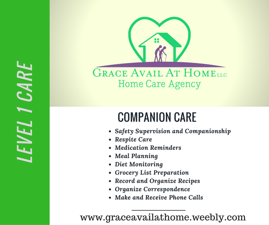 Pin by Grace Avail At Home LLC on Home Care Erie
