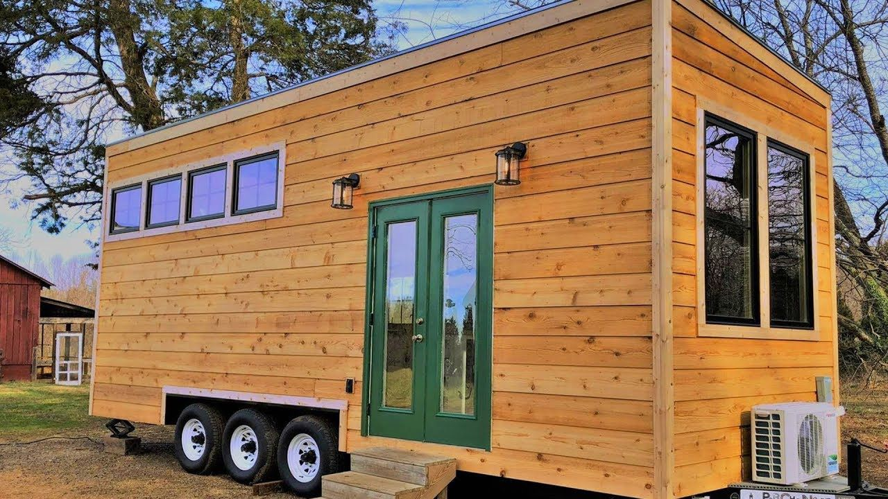 cozy beautiful roost 24 tiny house on wheels from perch and nest rh pinterest com 24' tiny house plans 24' tiny house on wheels