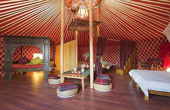 lanzaroteretreats | handmade homes | pinterest | yurt interior