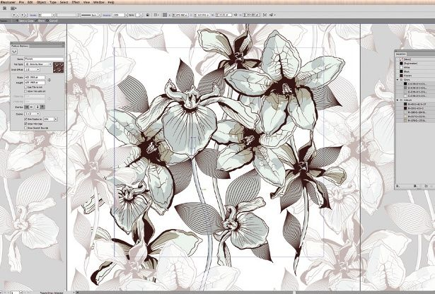 Create A Versatile Repeat Pattern In Illustrator CS40 Illustrators Fascinating Repeat Pattern Illustrator