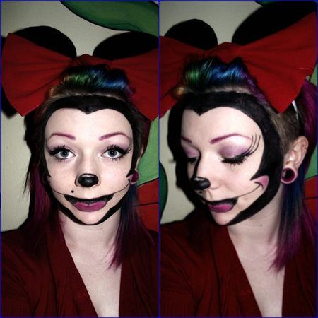 Minnie Mouse! http://www.makeupbee.com/look_Minnie-Mouse_46602