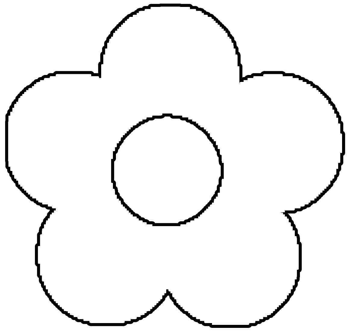 Coloring Sheets Preschool Flower coloring pages