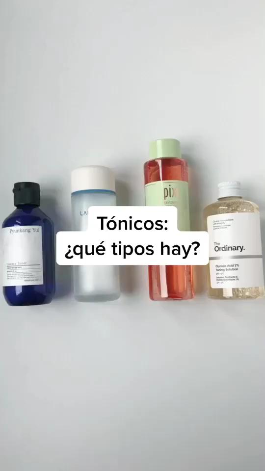 Tónicos: ¿Qué tipos hay?  – Maquillaje