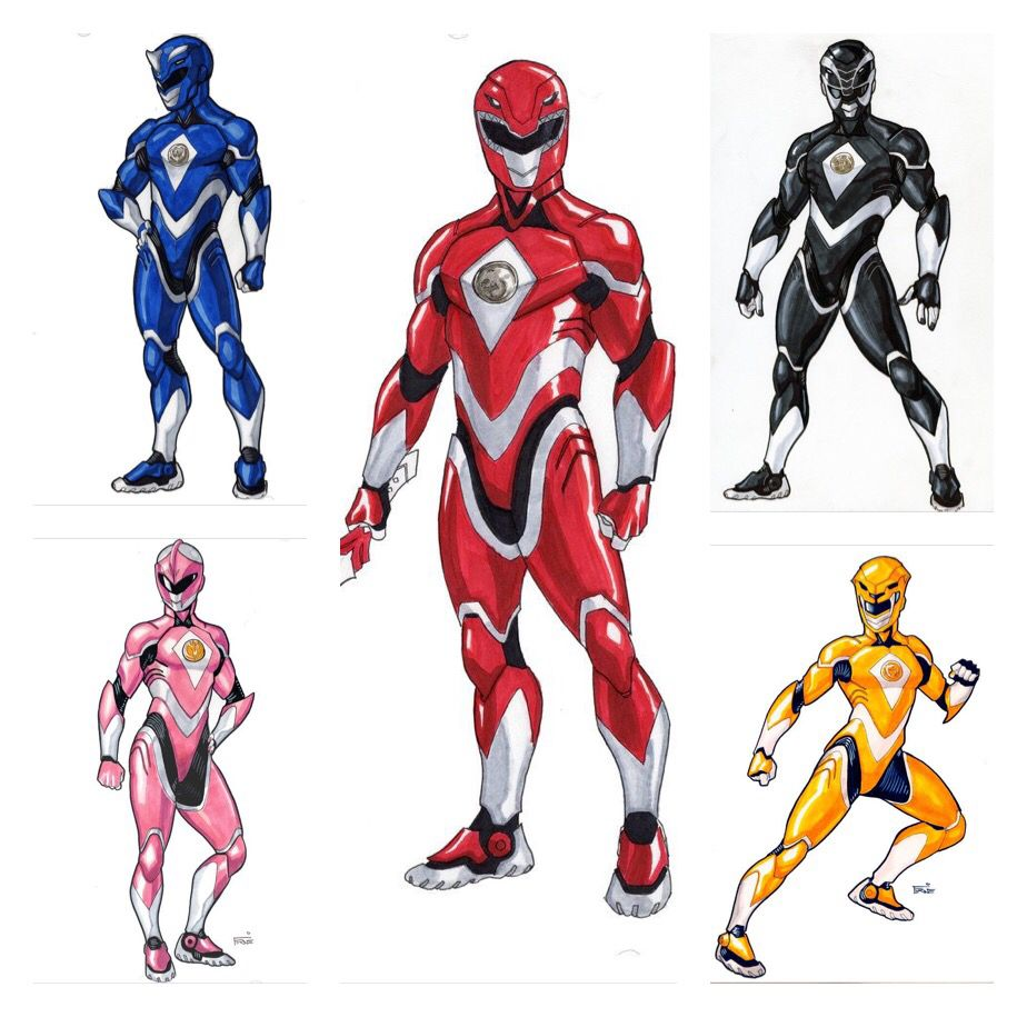 Power Rangers Comic, Power