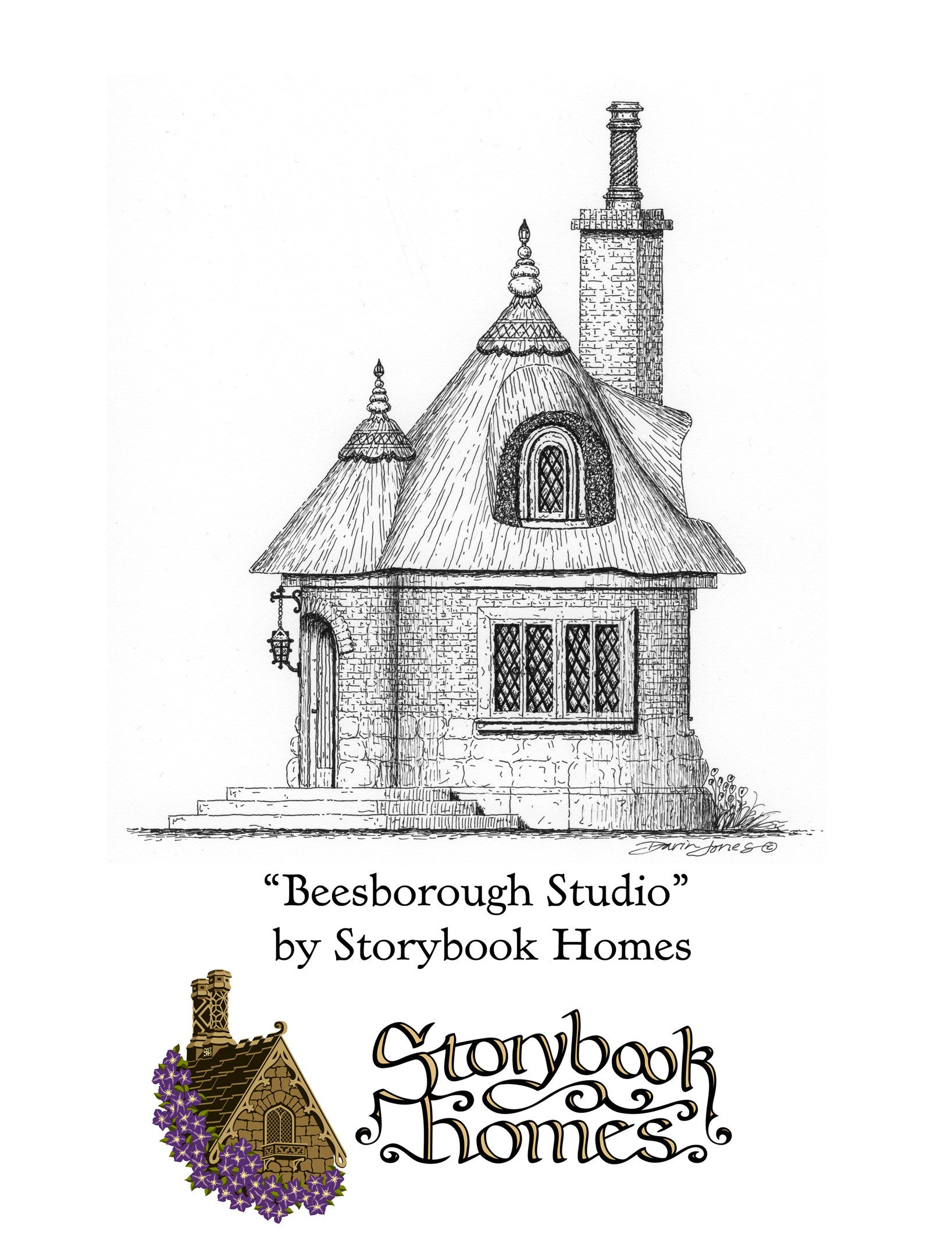 The Beesborough Studio Designed By Storybook Homes In The Truly