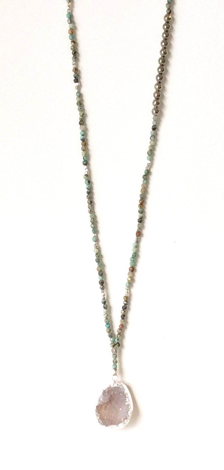 Gorjana Power Gemstone Pyrite Necklace for Intuition PxG1CB