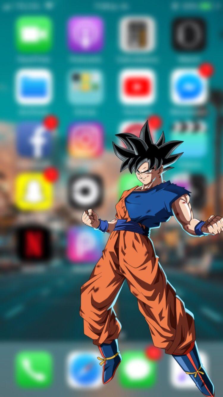 Fondo De Pantalla Para Iphone Goku Pantalla De Goku Fondo De