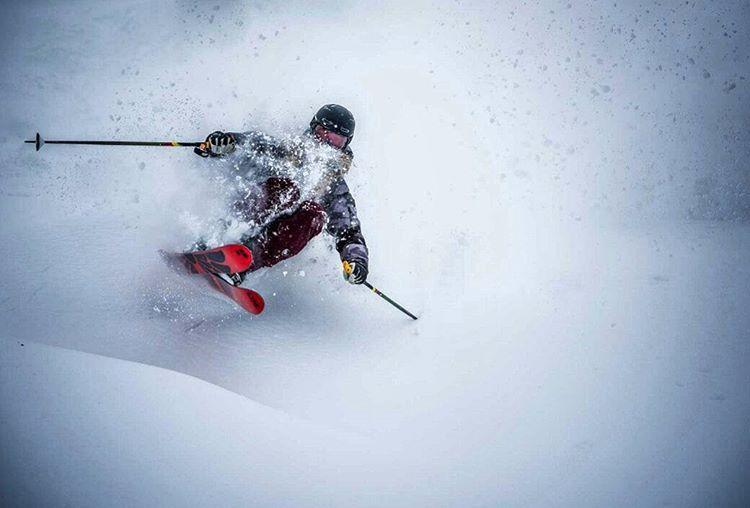 "Vegard Breie på Instagram: ""Perhaps my most favourite #pow #skiing shot I have ever taken! @karlkristianm in #sogndal last year! @friflytmag #winter @fstopgear #activewithsony @suunto_norge @drzipe"""