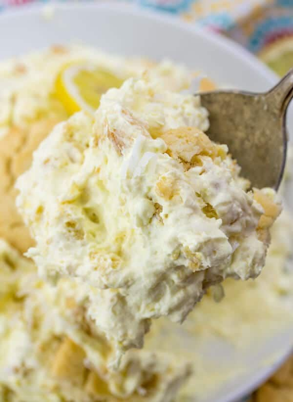 Lemon Cookie Salad #cookiesalad