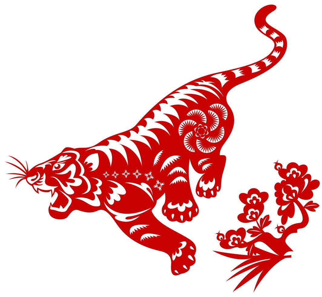 New Traveling Tiger logo Chinese zodiac signs, Chinese