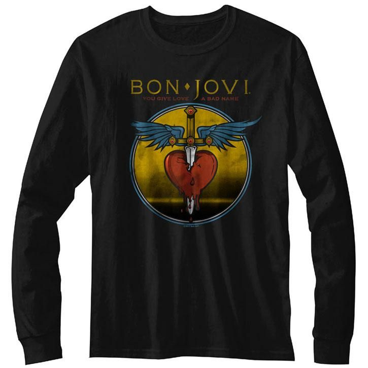 Bon Jovi NJ38 Licensed Adult T Shirt